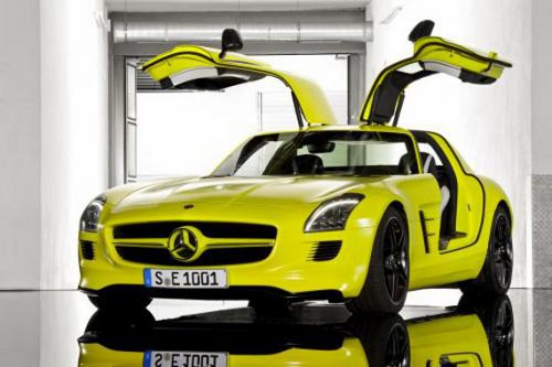 Mercedes SLS AMG E Cell5 Mercedes SLS AMG E Cell to Go into Production (Video)