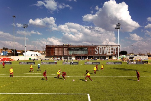 Nike Football Training Center Soweta Football Training Centre in South Africa Creates an Exemplary Sustainable Design