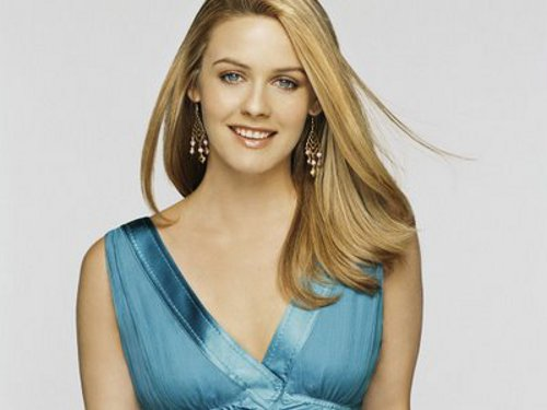 alicia silverstone Alicia Silverstone Charms with New Collection for EcoTools