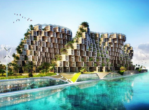 callebautcoral Eco Village Modeled on Coral Reefs for Haiti