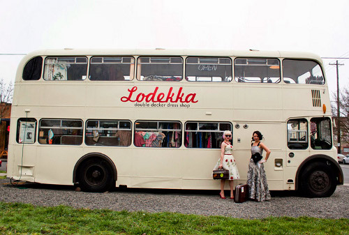 lodekka Double Decker Ginny Transformed into Lodekka Boutique