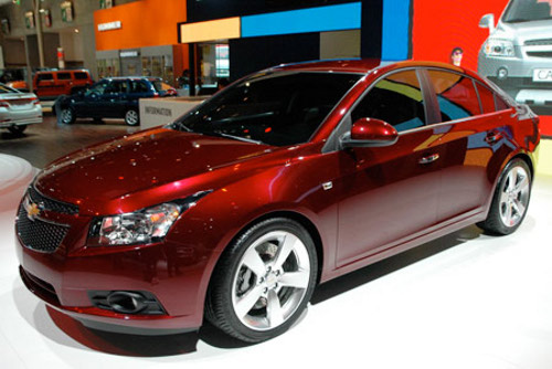 Chevrolet Cruze Chevrolet Cruze Ushers in RVC; Aims at Better Fuel Economy