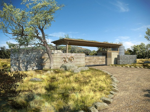 gate house 360º Kransberg Highlands International Green Estate is South Africa's First Carbon Neutral Green Estate