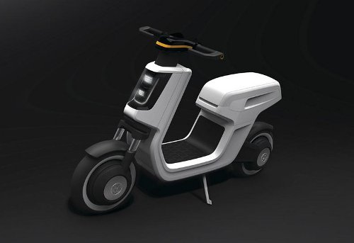 e scoot Volkswagen Unveils E Scooter at Shanghai Auto Show