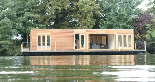 eco float Live on Water in this Eco Floating House