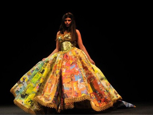 fairytale dress Fairytale Dress from Recycled Children's Books