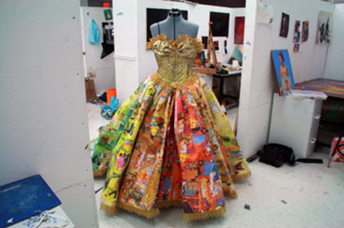 fairytale dress1 Fairytale Dress from Recycled Children's Books