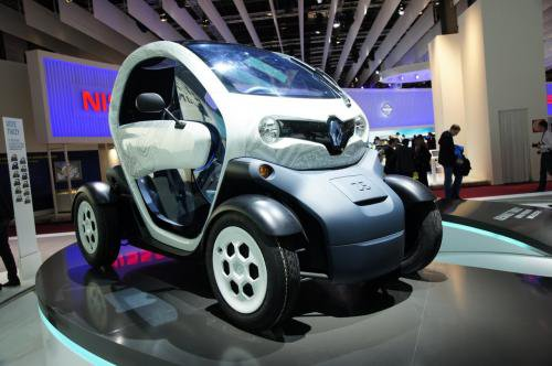 Renault 1 Renault Twizy All Electric Vehicle Priced at €6,990