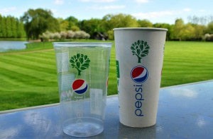 pepsicup Pepsi Adds Green to Business with Recyclable Cups