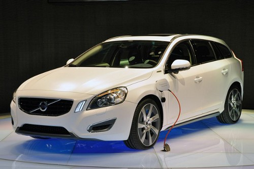volvo v60 plug in geneva Volvo V60 Plug in Hybrid Test Drives at Michelin Challenge Bibendum