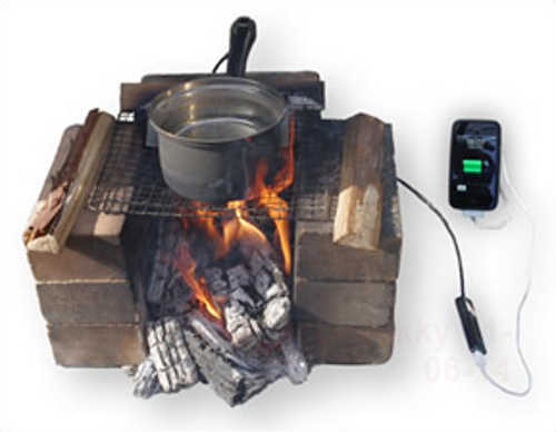 hatsuden nabe Hatsuden Nabe Charges USB Gadgets Using Excess Heat
