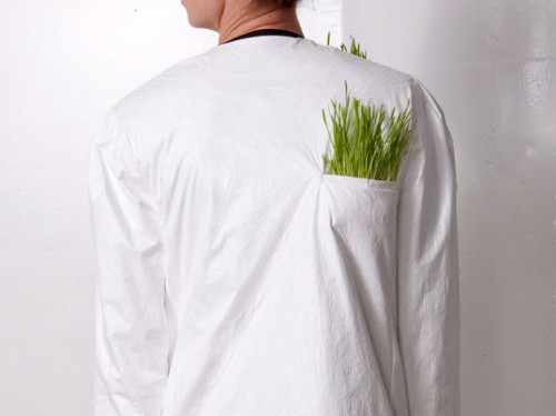 wrk shp tyvek wheatgrass dress 2 537x402 Wrk Shp's Raincoat is Typically Green