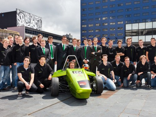 Forze IV hydrogen1 Hydrogen Fuelled Racing Car Forze IV Ready to Hit the Track