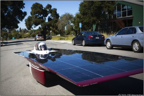 Xenith the fastest solar car ever Xenith Could be the Fastest Ever Solar Car