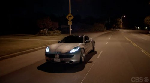 fiskerkarma cbs 2012 Fisker Karma Hybrid Debuts on CBS Sitcom Two and a Half Men