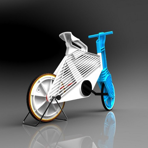 frii recycled plastic bike 2 Recycled Plastic Bike Frii Helps in Quick Short Trips