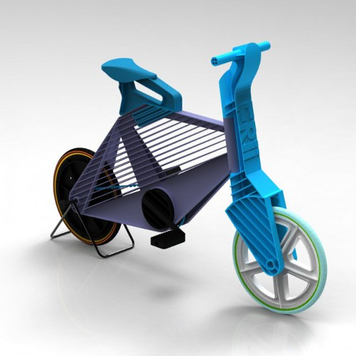 frii recycled plastic bike1 Recycled Plastic Bike Frii Helps in Quick Short Trips