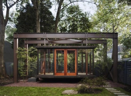 teahouse Imbibe Nature While Sipping Your Tea in this Hanging Tea House