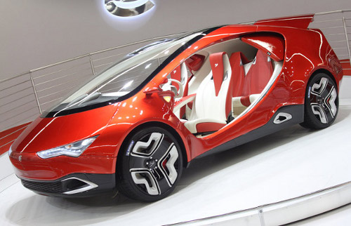 yo auto Yo Auto Hybrid Concept Sports Curved Sliding Doors [Video]