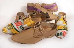 CREATIVE SHOES MADE FROM RECYCLED 1