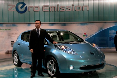 Nissan well sell 1.5 million zero emission vehicles by 2016 Nissan Celebrates Revenge of the Electric Car with Green Program 2016