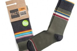 PACT Launches Organic Cotton MenGs Socks