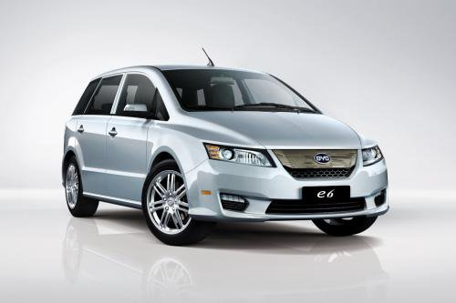 BYD Daimler Daimler BYD Concept Car to be Shown at Auto China 2012