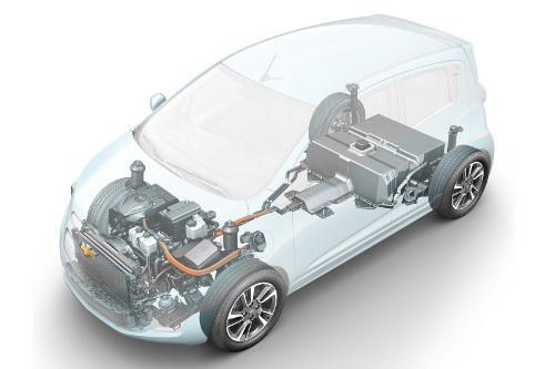 CHEVROLET SPARK EV1 Chevrolet Spark EV to Use Lithium Phosphate Battery Tech from 2013