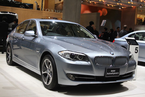 bmwactivehybrid5 BMW ActiveHybrid 5 to Hit US Roads Early Next Year