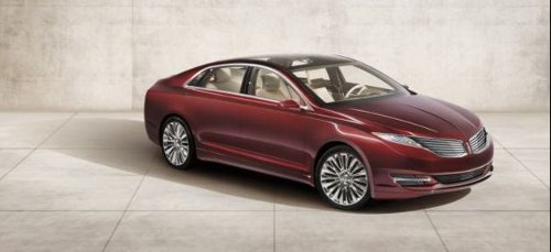 2013mkz Ford Hybrid Electric Version of Lincoln MKZ in 2013