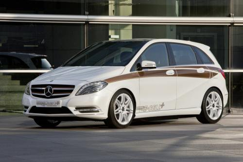 MercBclass Mercedes Extended Version of B class EV Lined Up for US Roll Out