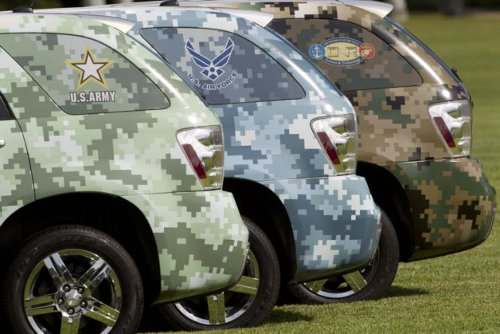 USarmy GM and US Army Launch Military Fleet of Fuel Cell Vehicles