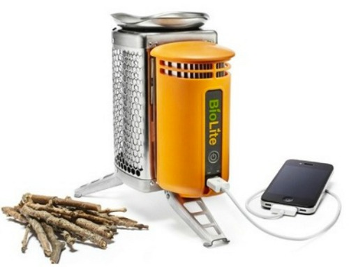 biolite camp stove BioLite Intelligent Stove Charges Your Gadgets While Heating Up a Nice Meal