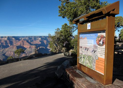 grand canyon water filling station Bottled Water Sales Banned at Grand Canyon National Park