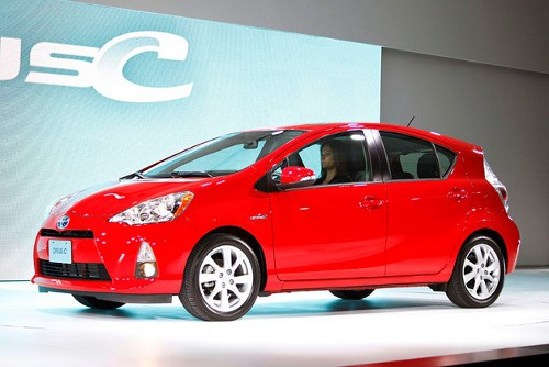 priusc1 Toyota to Up Prius C Production to Meet Huge Demand