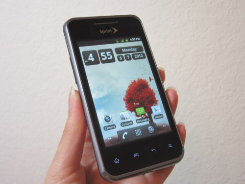 LG Elite 2 Sprint LG Optimus Elite is Ultimately Eco Conscious