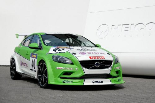 Volvo Volvo V40 Race Car Revealed; Runs on Bio Fuel
