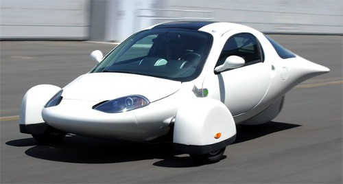 aptera Aptera USA 2e Three Wheeled Electric Car by Q1 of 2013
