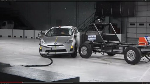 electric Car Prius Gets Highest Safety Rating From IIHS