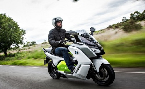 BMW C evolution 2 537x329 BMW Unveils Next Gen E Scoter C evolution