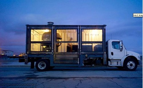 recycled Recycled Shipping Container is Now a Roaming Pizzeria