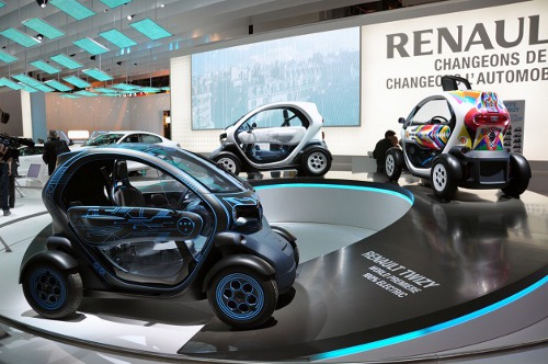 renault twizy paris 2010 Renault sells 1,000 Twizy electric vehicles in Germany