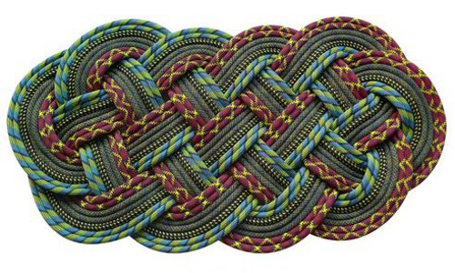 SerpentSea rugs Floor Mats from Recycled Marine Ropes
