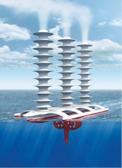 cloud boat Geoengineers Mull Over Creating Artificial Clouds to Quell Global Warming