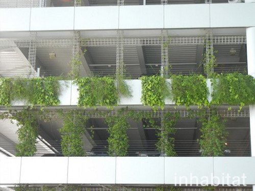 portland airport vertical garden Portland International Airport Goes Green