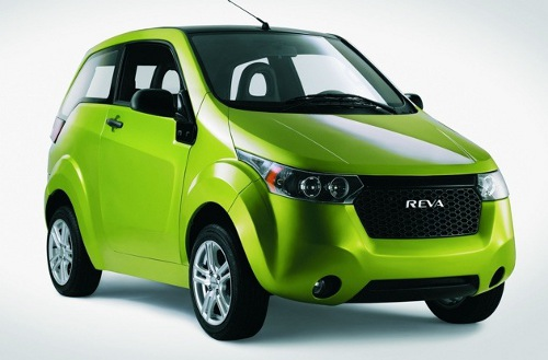 reva nxr electric car Mahindra Reva NXR to Take on Nissan Leaf on Indian Roads