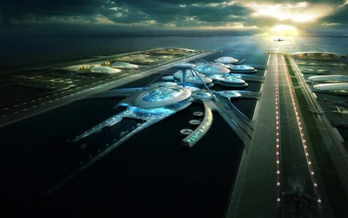airport Floating Airport Proposed for London