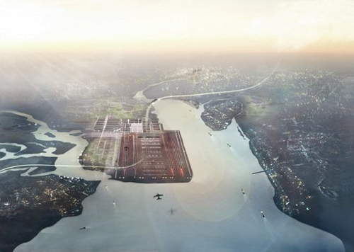 airport2 Floating Airport Proposed for London