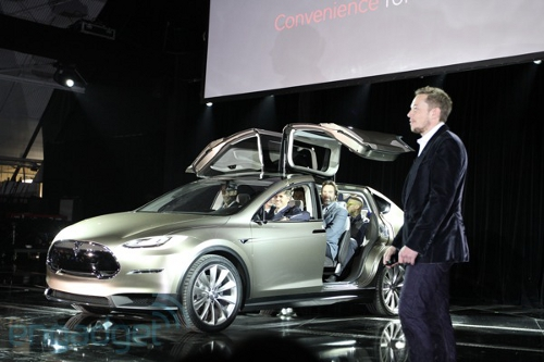 tesla Tesla Crossover and Sports Car EVs in 2016