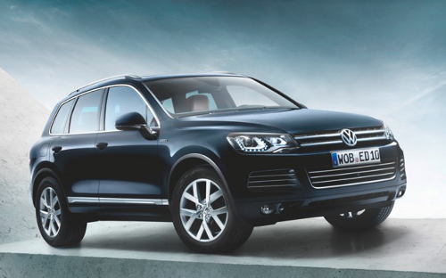 car11 VW Touareg Special Edition X Unveiled for Mk1 10th Anniversary